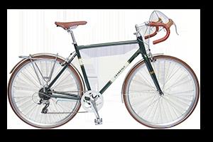 Bilde av en av våre herresykler i DBS Premium-serien, sykler med kvalitetskomponenter og utforming for den urbane setting.