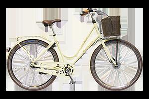 Bilde av en av våre damesykler i DBS Premium-serien, sykler med kvalitetskomponenter og utforming for den urbane setting.
