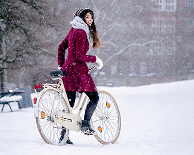 Passer du godt nok på sykkelen din om vinteren?